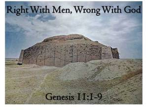 Right with Men Wrong with God